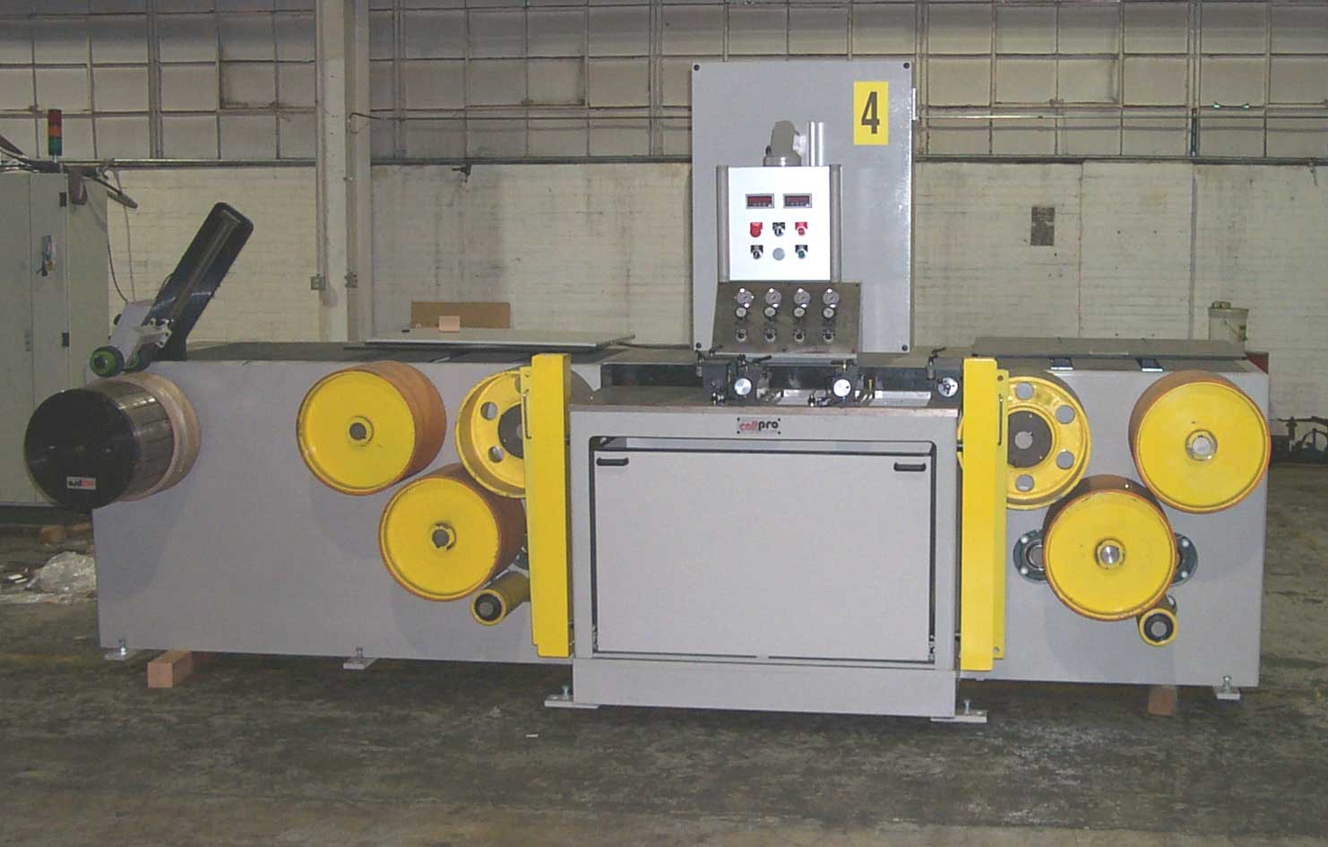 """COILPRO, 2001, EDGING/SKIVING LINE, .003""""-0.050"""" THICKNESS (11202)"""