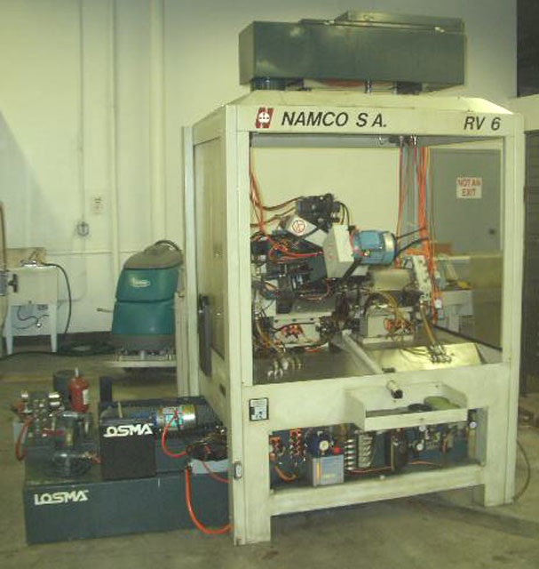 NAMCO, No. RV6, CNC ROTARY TRANSFER MACHINE, NEW 2001 (11495)