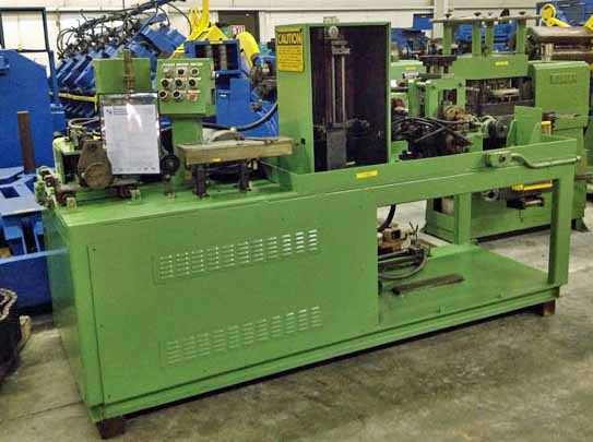 "4"" x 1"", ACCURATE WIRE, WIRE FLATTENING LINE WITH TRAV SPOOLER (11852)"