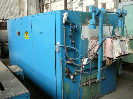 "12"" W. x 8"" H. x 144"" L., C I HAYES, CONTINUOUS BELT FURNACE, MAX 2100F (12305)"