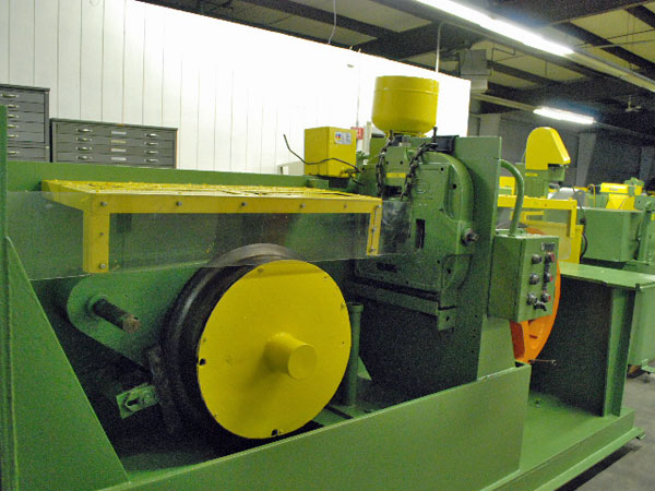 WIRE SHAPING LINE WITH DANCER AND WIRE TRAVERSE TAKE UP (12310)