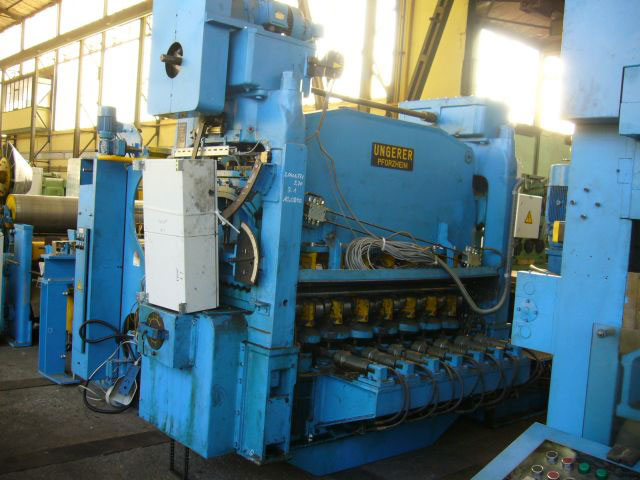 "65"" (1650mm) x .120"" (3mm), UNGERER, CUT-TO-LENGTH/SLITTING LINE,"