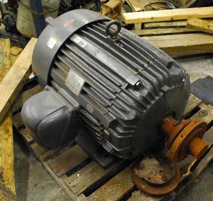 75 HP EMERSON, 1185 RPM, 460 VOLTS (12863)