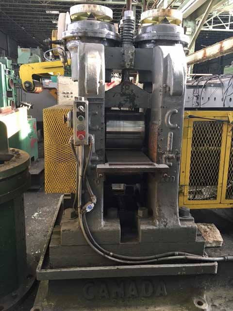 """12"""" x 12"""" CANADIAN IRON 2 HIGH ROLLING MILL (13225)"""