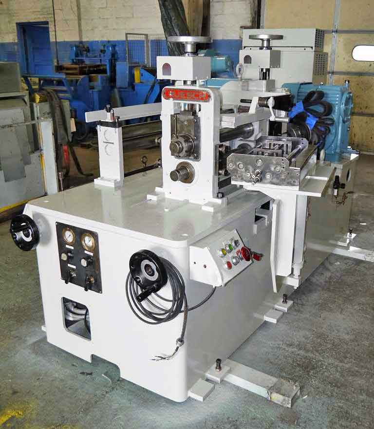 "18""(457mm) X 2.875"" (73mm) RUESCH MODEL 146 SLITTING LINE (13595)"