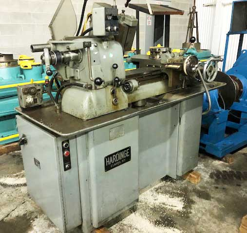 HARDINGE, MODEL HC DOVETAIL BED TOOL ROOM LATHE (13616)