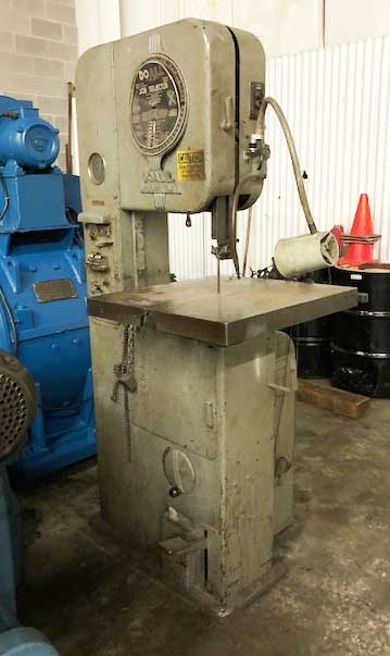 DOALL,VERTICAL BAND SAW (13618)