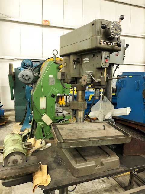 "15"" CLAUSING BENCH MOUNTED DRILL PRESS (13619)"