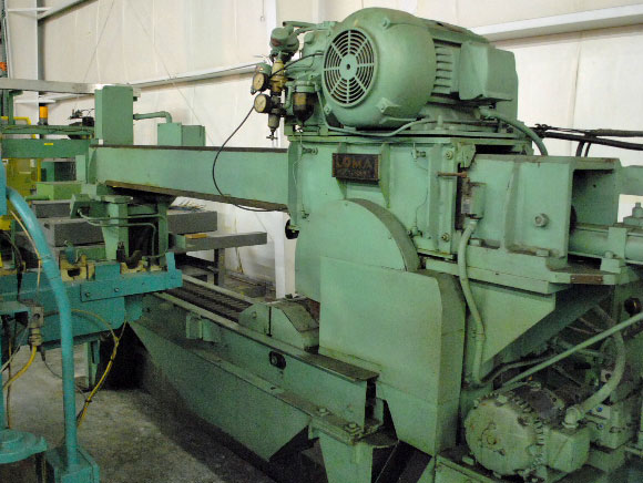 "18"", LOMA, No. KE-3, CROSS CUT TYPE, 72"" CROSS TRAVEL, (4720)"