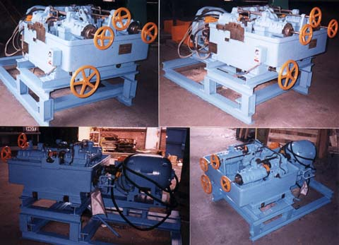 STRAIGHTENING/POLISHING UNIT FOR SCHUMAG No. KZRP-I COMBINED DRAWING M/C (5353)