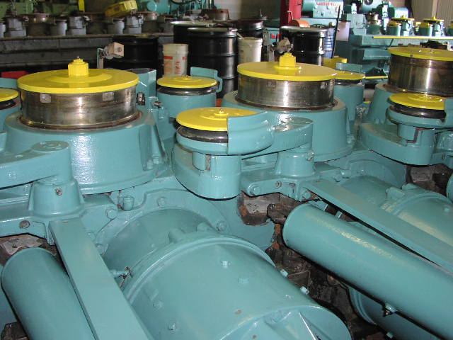 ".220""- .030"", No. 6HIV, VAUGHN WIRE DRAWER, 10 HP, 230 V DC, (6848)"