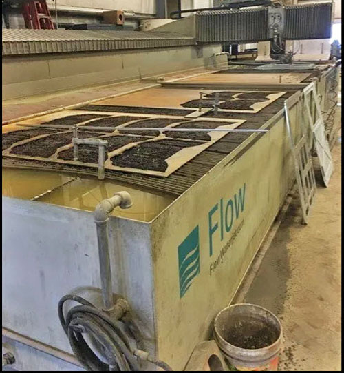 Flow IFB Dynamic 6x24; 87K PSI, 100HP Pump, Chiller, Spare Parts, Tools, 8K Hours