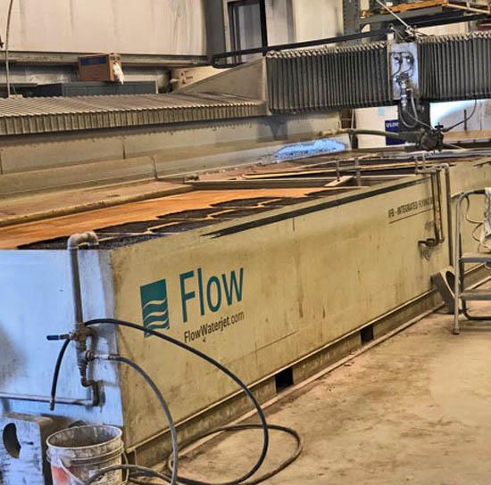 FLOWFlow IFB Dynamic 6x24; 87K PSI, 100HP Pump, Chiller, Spare Parts, Tools, 8K Hours