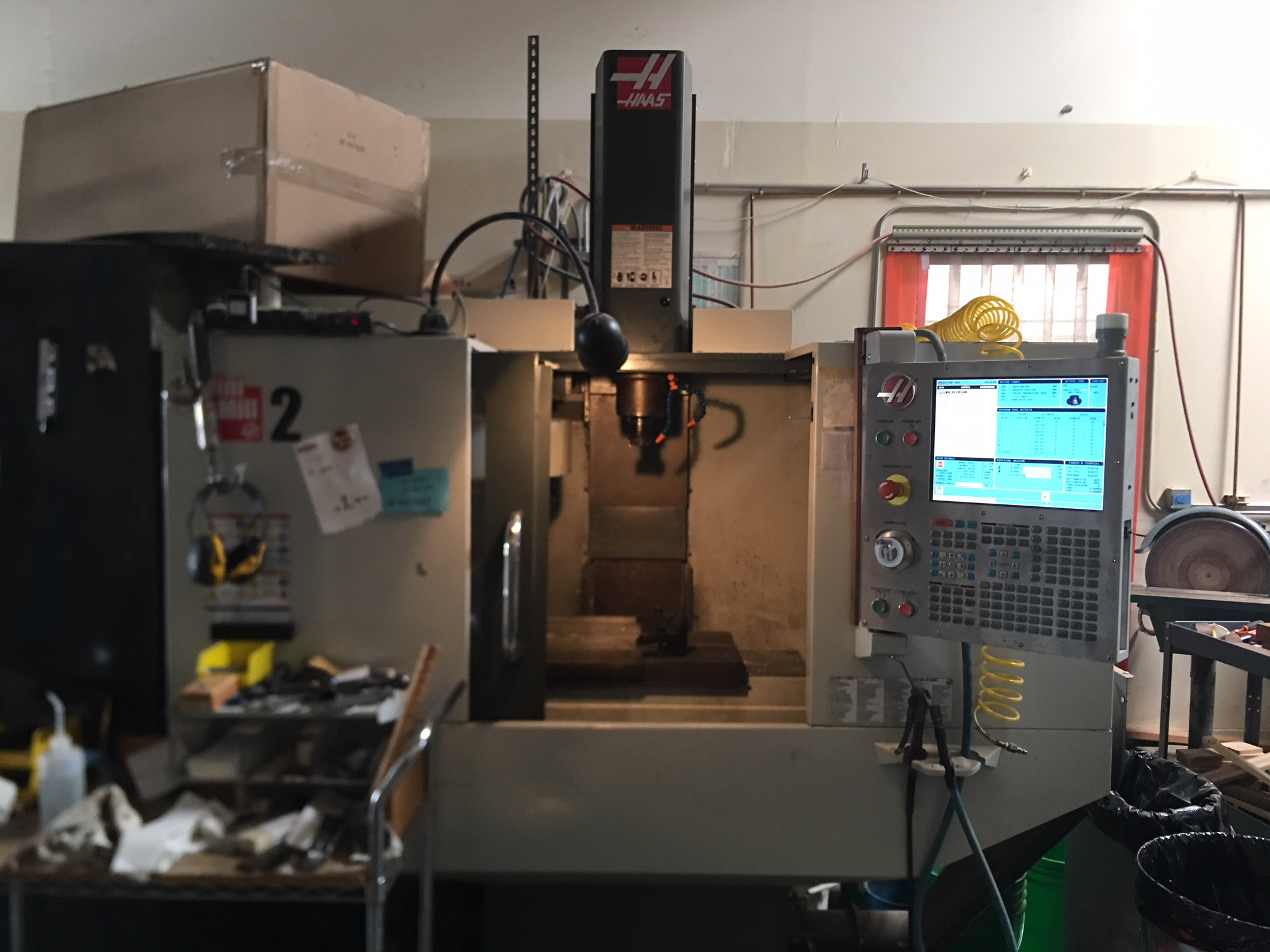 "Haas Mini Mill 2, 20"" x 16"" x 14"", 6K RPM, CAT40, 20 ATC, Programmable Coolant, Rigid Tapping"