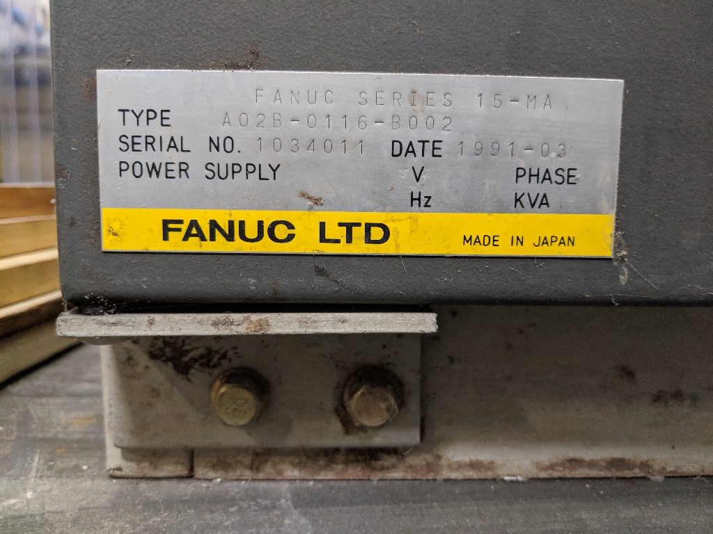 POWERMATICPowermatic 5-Axis Router, Fanuc 15M Control