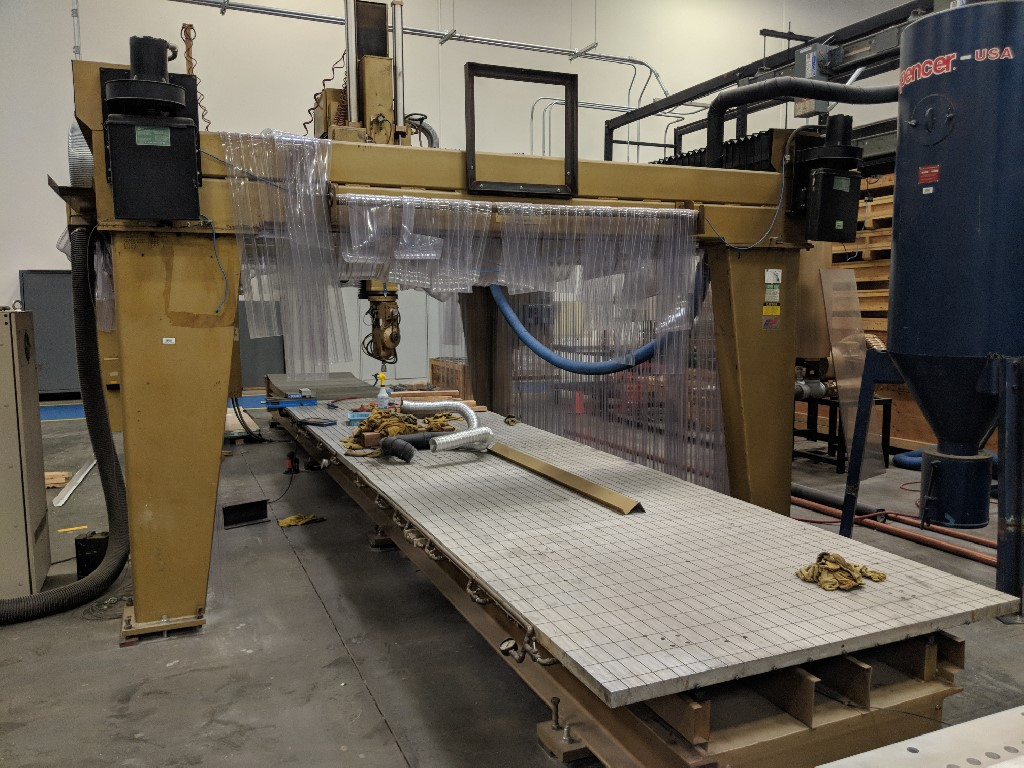 Powermatic 5-Axis Router, Fanuc 15M Control