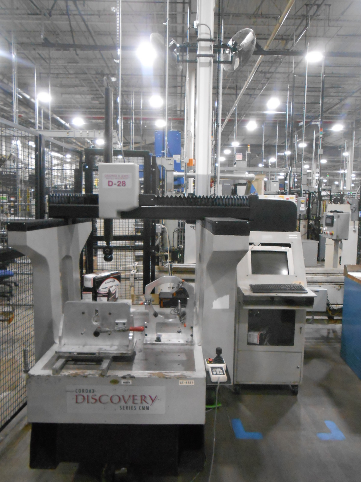 """Sheffield Discovery D28, 2000; 30""""x36""""x20"""", PH10T Probe, PHC10-2 Controller, PI200 Interface, CMM Manager"""