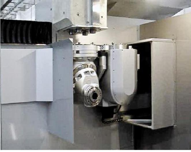 "PARPASParpas XS63 5-Axis Dual Head High Speed Gantry Milling Machine, 2011; 236"" x 118"" x 59"", Heidenhein iTNC 530 Ctrl, Siemens Motors/Drives, 50 Taper, 5K & 20K RPM Heads, Probing, More"