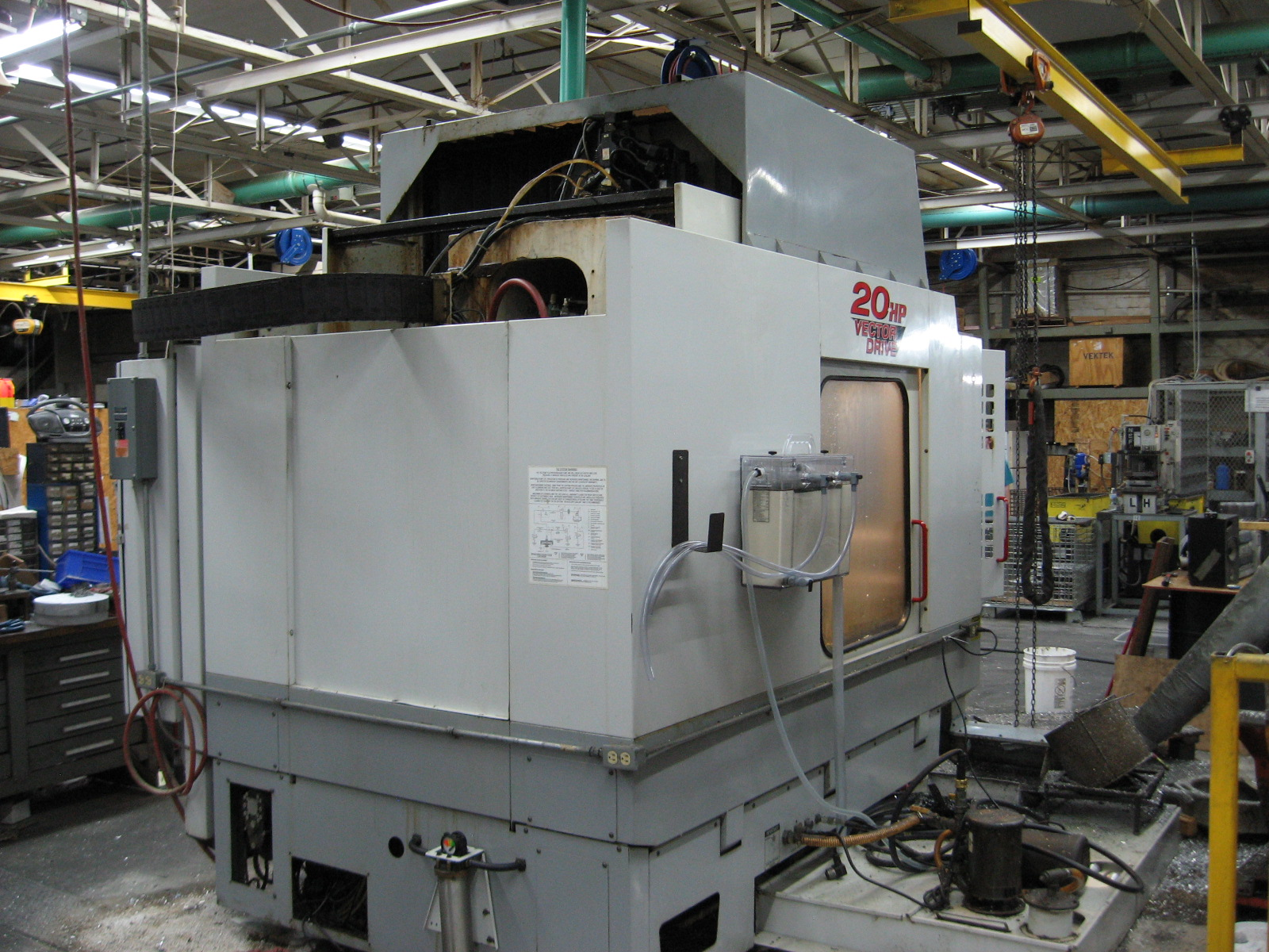 HAAS2000 Haas HS-1RP, Full 4th Axis, 10K RPM Spindle, Tons of spare parts