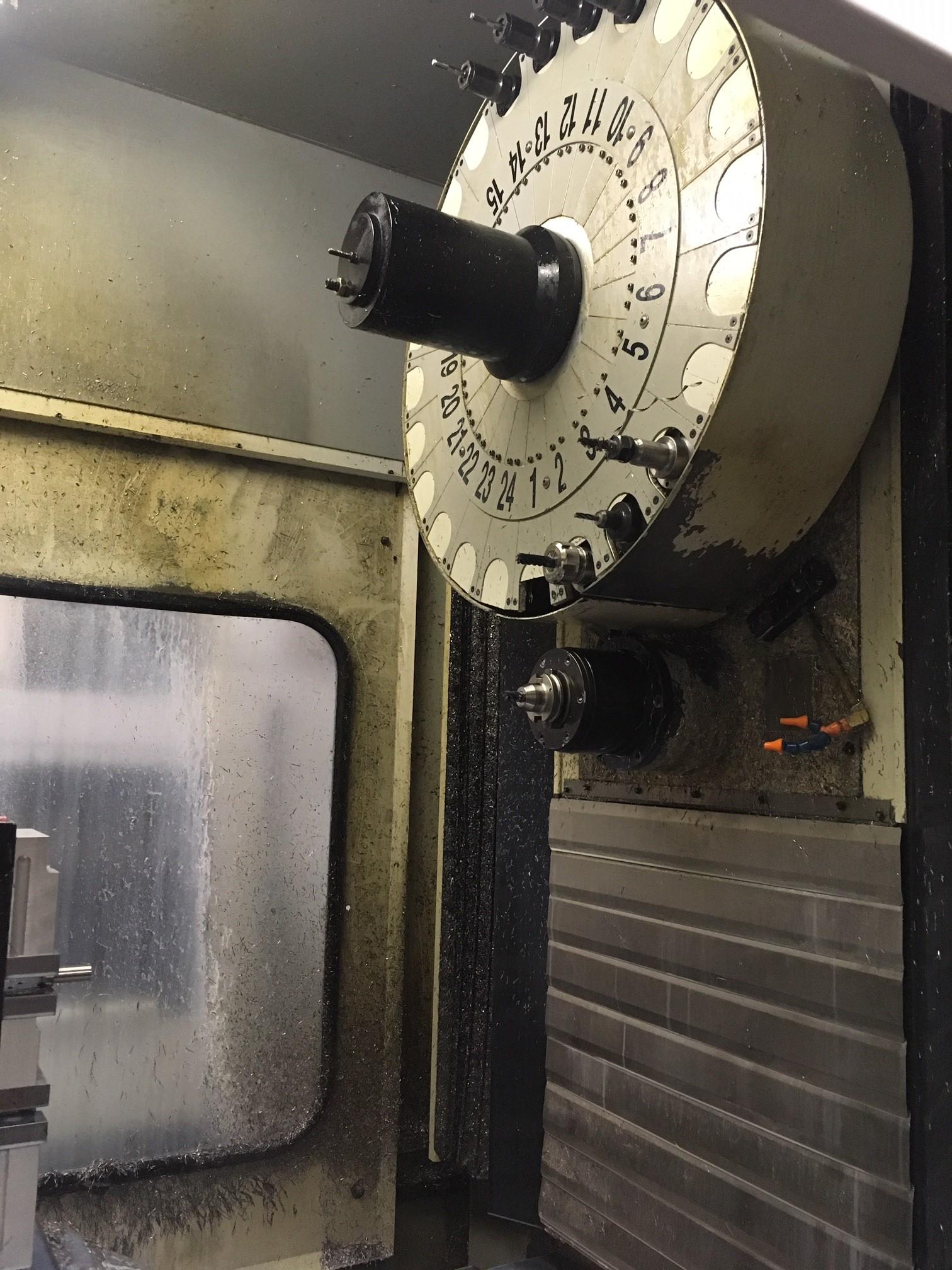HAAS1999 Haas HS-1RP, full 4th Axis, 7500 RPM