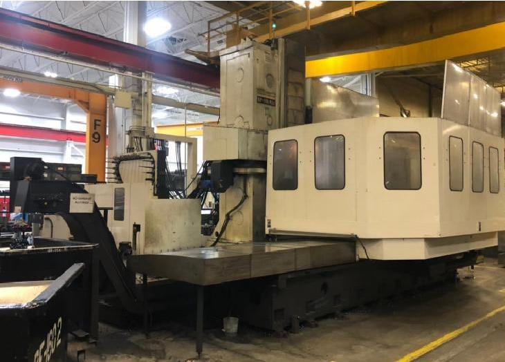 """Toshiba BP-150.R22, 4th Axis Rotary, 160""""x100""""x60"""", 5.9"""" Quill Dia, ISO50 Tpr, 120 Tools, Tosnuc 999 Ctrl, Coolant, Renishaw Probe"""