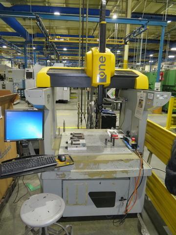 2004 Brown & Sharpe One 7.7.5 Shop Floor DCC  Coordinate Measuring Machine, PCDIMIS CAD++, Renishaw PH10M probe