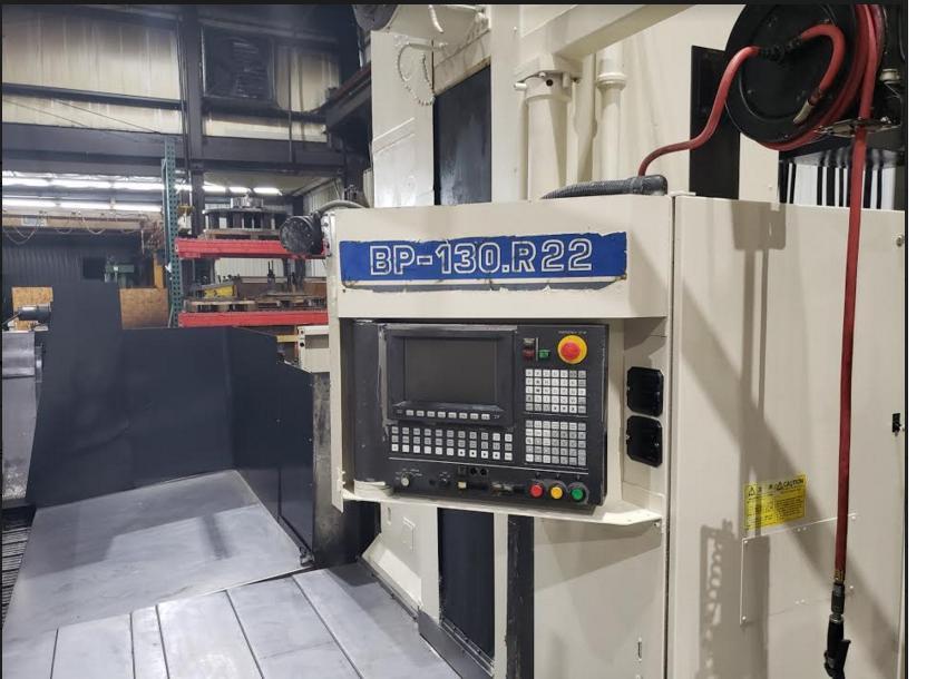 "ToshibaToshiba BP-150.R22, 4th Axis Rotary, 160""x100""x60"", 5.9"" Quill Dia, CAT-50 Taper, 60 Tools, Tosnuc 888 Ctrl, Coolant, Renishaw Probe, Scales, Full 4th"
