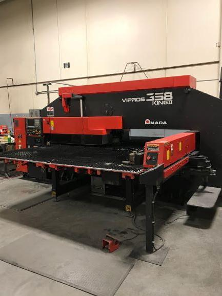 2000 33 Ton Amada Vipros 358 King II Turret Punch Press