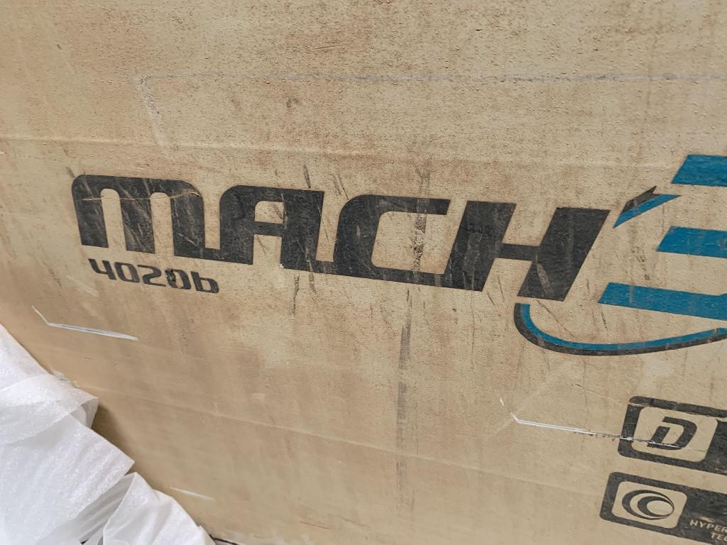 "FLOWFlow Mach 3, 78""x157""x7"", 60HP, 60K PSI, Paser III Dynamic Cutting, Chiller, Hyperpressure Technology"