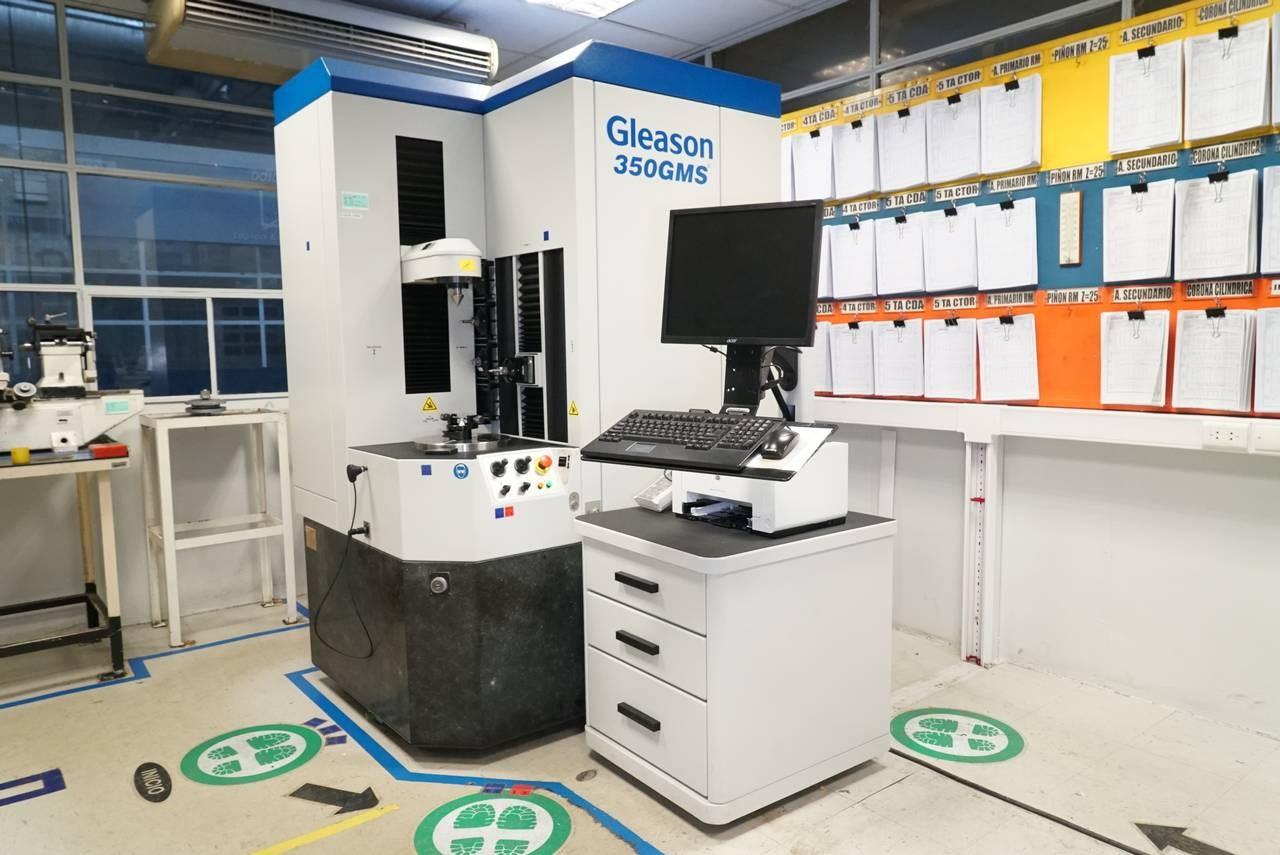 GLEASON2015 Gleason 350 GMS Gear Inspection System