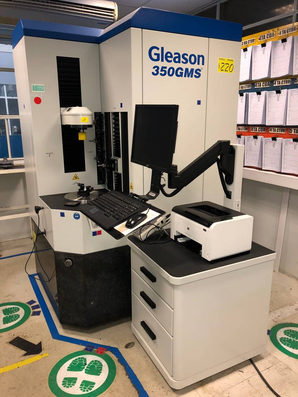 2015 Gleason 350 GMS Gear Inspection System