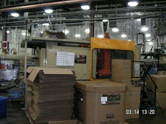 ENGEL ES3500/550 - Injection Molding Machines | Machine Hub