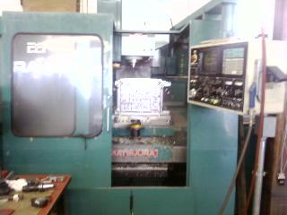 """MATSUURADUAL PALLET, YASNAC MX-3, 31.5"""" X 16.5"""" TBL, BT 40, 6K RPM,"""