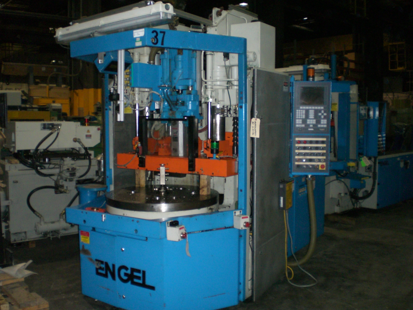 ENGEL55 TON 1.6 OZ , EC-90 CONTROL , ROTARY TABLE