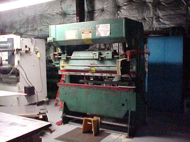 WYSONG35 TON X 6', AUTOMEC CNC B.G.