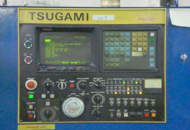 """TSUGAMIFANUC 11T, 3,150 RPM, 15HP, (3) 10"""" CHUCKS"""