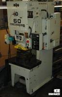 "KOMATSU60 TON. 90mm STR., 300mm DIE HEIGHT, 70mm ADJ., 900mm X 550"" BOLSTER"