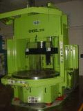 200 TON 9.9 OZ , VERTICAL CLAMP ,ENGEL , CC-100 CONTROL, ROTARY TABLE