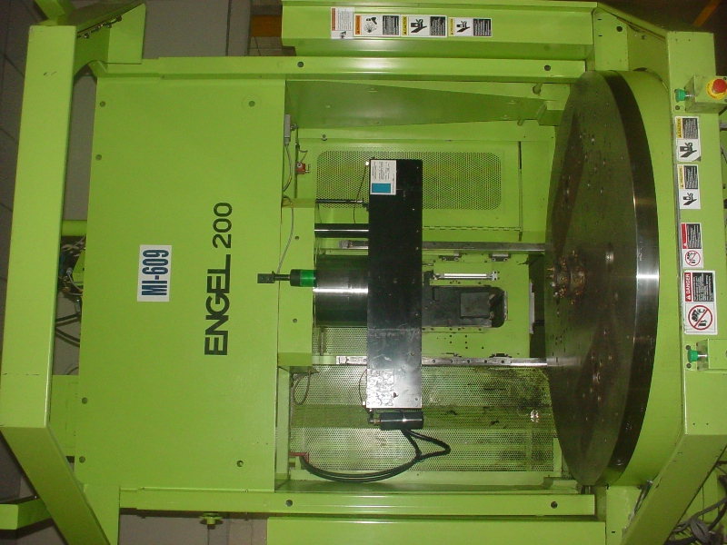 ENGEL200 TON 9.9 OZ , VERTICAL CLAMP ,ENGEL , CC-100 CONTROL, ROTARY TABLE