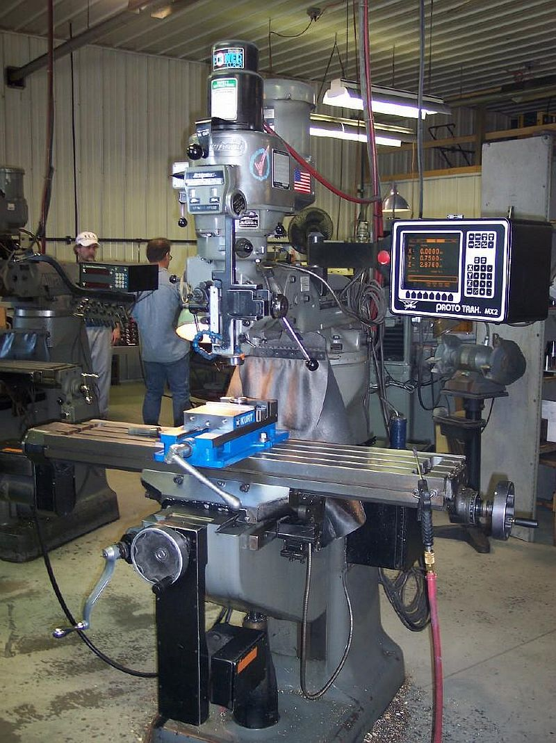 CNC, 2HP, VARISPEED HEAD, PROTOTRAC MX-2 2 AXIS CONTROL