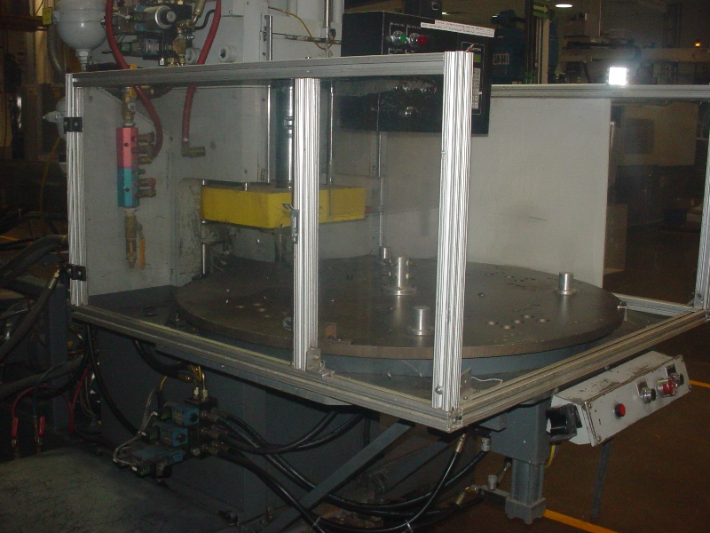 AUTOJECTORS70 TON 2.96 OZ , VERTICAL CLAMP,ROTARY TABLE (7/1- off market for three months)