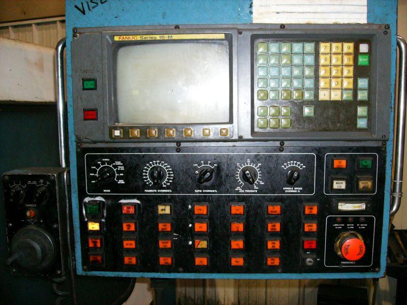 """SUPERMAXFANUC 15-M CONTROL, 50 TAPER, 30 ATC, 64.5""""X27.5""""X35.4"""""""