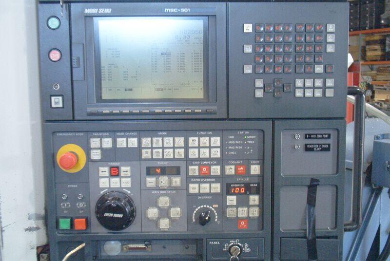 MORI SEIKIFANUC MSC-501, SUB SPINDLE