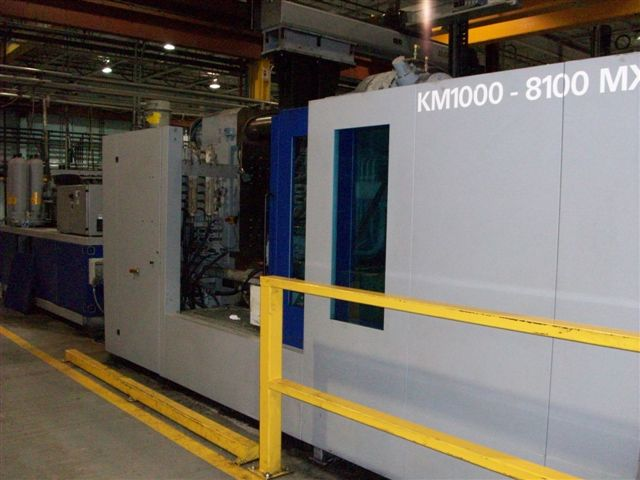 KRAUSS-MAFFEI1100 TON 145 OZ , KRAUSS MAFFEI, MC-5 CONTROL ** WE SOLD FROM TRISTAR**