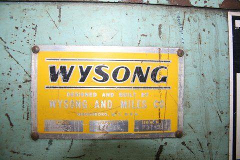 """WYSONG1/4"""" X 10', MECH., PFOBG, 6' SQ. ARM"""