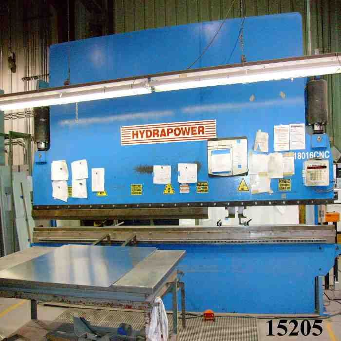 HYDRAPOWER180 TON X 16', AUTOMEC 2-AXIS B.G.