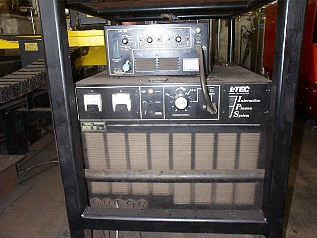 "ESAB12'6"" X 42', 500 AMP PLASMA, 3 OXY, SABER 2000 CONTROLS"