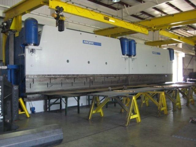 "600 TON X 52' ""(TWO 600 TON 26' IN TANDEM) CNC B.G."