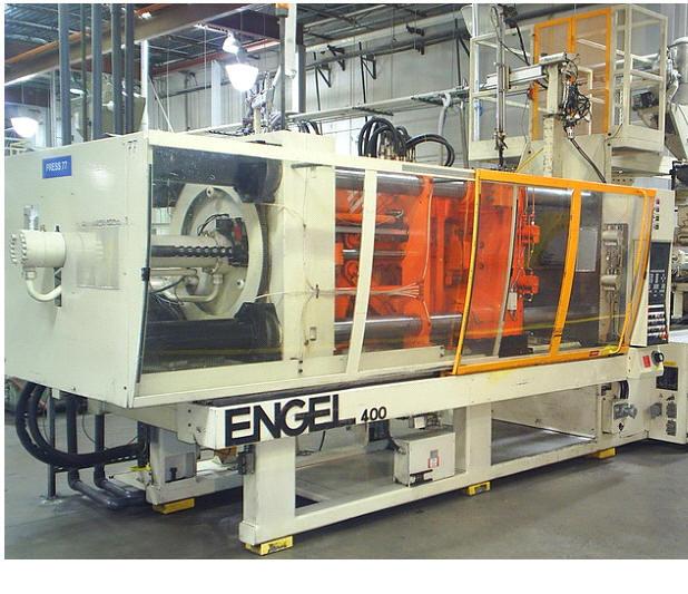 400 TON 38.7 OZ., ENGEL , CC-90 CONTROL