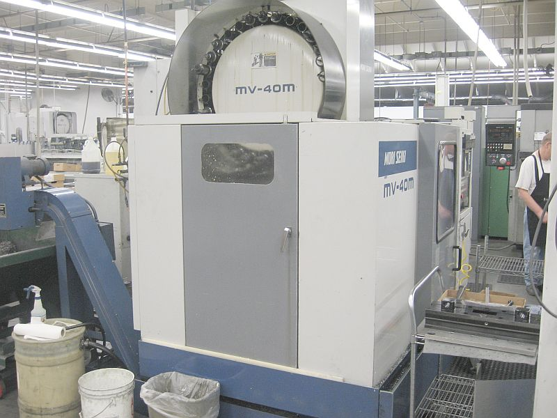 "FANUC MF-M7, 15.74"" x 24.80"" PLLTS, CAT 40, 30 ATC, 22""x16""x18"" TRVLS"